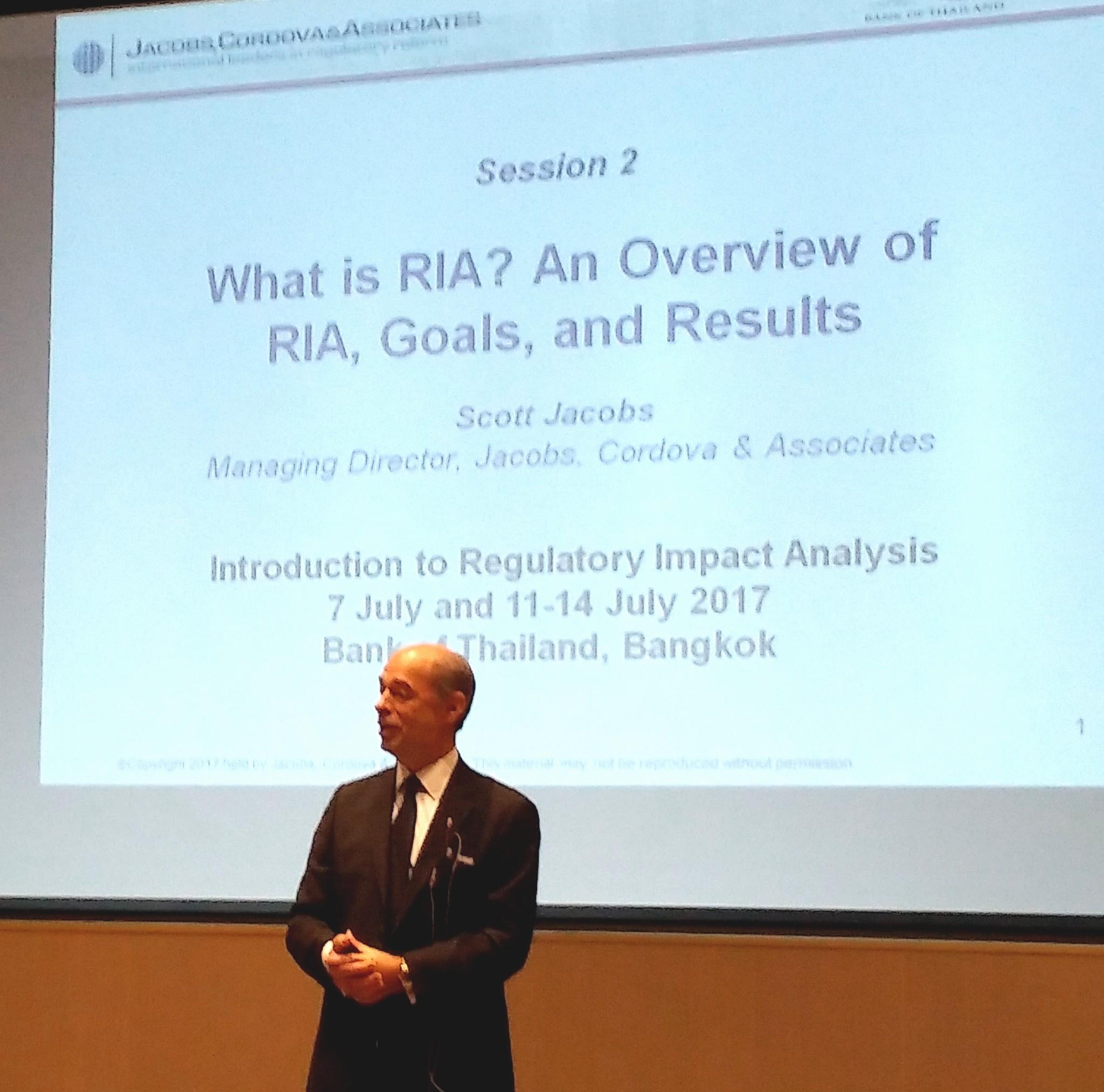 RIA Training - JCA